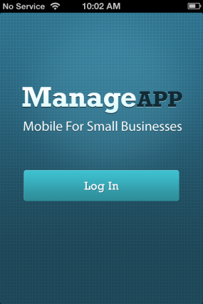 Manage App Screen